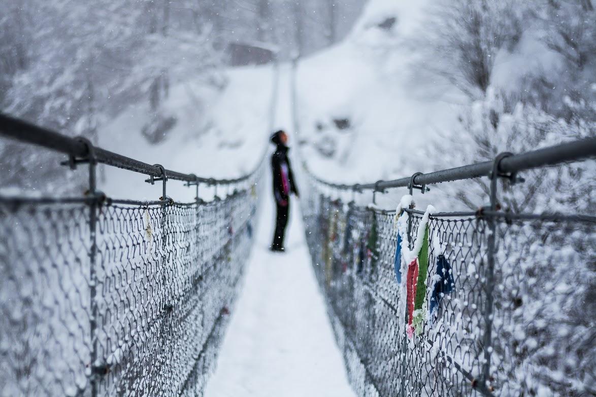 Ponte di corde avis innevato valli del pasubio carlo costa architetto thiene (56)